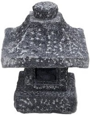 Osaka Japanese Stone Lantern for sale by NVA Creative Garden Granite